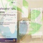 Xylocain 10% Spray ยาชาที่มีส่วนผสมของ lidocain 10% แบบสเปย์ ใช้ฉีดพ่นบนผิว ขนาด 50 ml