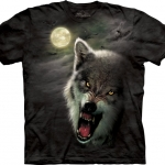 Pre.เสื้อยืดพิมพ์ลาย3D The Mountain T-shirt : Night Breed