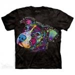 Pre. เสื้อยืดพิมพ์ลาย 3D The Mountain T-shirt : PERFECT WORLD T-SHIRT