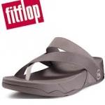 รองเท้า Fitflob Sling Leather Sport สีเทาอมน้ำตาล No.FF123