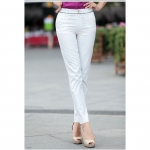 Pre order กางเกงทำงาน กางเกงลำลอง กางเกงแฟชั่นเกาหลี BIG SIZE สีขาว