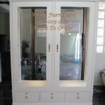 ตู้โชว์ชั้นกระจก 3 ชั้น