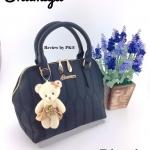 กระเป๋า รุ่นใหม่ห้อยหมี หนังสวย ด้านในมีหลายช่อง