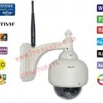 กล้องวงจรปิดไร้สาย IP Camera EasyN H3-V10R ติดตั้งภายนอกอาคาร หมุน ก้มเงยได้