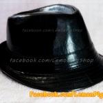 หมวกหนังทรงไมเคิล สีดำ สุดเท่ห์ !!!