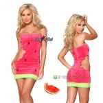 ชุดแฟนซี ชุดคอสเพลย์ ชุดCosplay เดรสน่ารัก = ชุดผลไม้ Mix fruit ชุดแตงโม Water Melon =