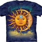 Pre.เสื้อยืดพิมพ์ลาย3D The Mountain T-shirt : Sun Moon