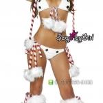 ชุดแฟนซี ชุดคอสเพลย์ ชุดCosplay ปีใหม่ = ชุดคริสต์มาส Christmas สโนว์แมน Snowman =