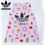 Size XL ชุดเดรสการ์ตูน ลาย Adidas (1)