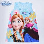 Size L ชุดเดรสการ์ตูน ลาย Frozen (1)