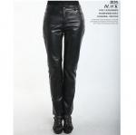 พรีออเดอร์ กางเกงผู้หญิง กางเกงหนังขายาว กางเกงคาวบอย แฟชั่นเกาหลี