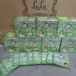 เลล่า ม้าลายเขียว บีบี LELA Common Baby White BB Green Base SPF 50 PA+++ แบบซอง 7 กรัม (ยกกล่อง 12 ซอง)