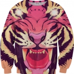 Pre-Order เสื้อยืดพิมพ์ลาย MR.GUGU & Miss GO : COMIC TIGER SWEATER