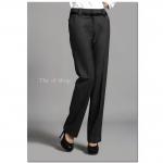 (Pre-Order) กางเกงผู้หญิงทำงาน กางเกงสูท กางเกงขายาว กางเกงขาตรงหรือทรงกระบอก