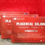 Placental 50000 mg กลูต้าแก้มบุ๋ม
