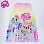 Size L ชุดเดรสการ์ตูน ลาย pony (1)