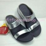 รองเท้า Fitflob Lulu  สวม สีเงิน  No.FF355