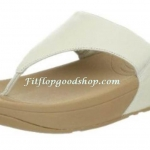 รองเท้า Fitflob Lulu  หูหนีบ สีขาว No.FF225