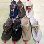 รองเท้า Fitflob Rockchic Icewhite เพชรเม็ดเล็ก สีขาว  No.FF106