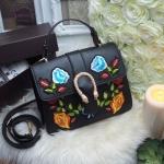 กระเป๋า Fashion แบบ Gucci NO Logo งานปัก นูน 3 มิติ งานสวยสุดไฮคลาส วัสดุหนัง canvas