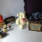 """ตุ๊กตาหมีน่ารัก คละสี size 8"""" 2 ตัว"""