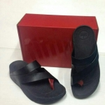 รองเท้า Fitflob Sling for men Black สีดำ No.FF144