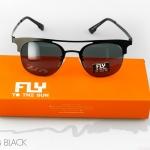 [พร้อมส่ง] แว่นกันแดด FLY TO THE SUN รุ่น IC CLUB BLACK