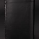 พรีออเดอร์ กระเป๋าสตางค์ กระเป๋าคลัทช์สำหรับผู้ชาย แฟชั่นกระเป๋าสไตล์อิตาลี หนังแท้ หนังนิ่ม สีดำ