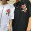 [Preorder] เสื้อยืดแนวสตรีทธงปลาคราฟญี่ปุ่น มีสีขาว/ดำ thumbnail 9