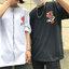 [Preorder] เสื้อยืดแนวสตรีทธงปลาคราฟญี่ปุ่น มีสีขาว/ดำ thumbnail 2