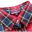 [พร้อมส่ง] เสื้อเชิร์ตลายสก๊อต มีสีแดง/ส้มชมพูพีซ/เขียวน้ำเงิน thumbnail 7