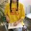 [Preorder] เสื้อยืดแนวสตรีทสีเหลือง Good Girls Bad Girls thumbnail 2