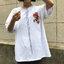 [Preorder] เสื้อยืดแนวสตรีทธงปลาคราฟญี่ปุ่น มีสีขาว/ดำ thumbnail 4