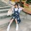 [Preorder] กระโปรงทรงเอสไตล์เกาหลีน่ารักลายสับปะรด มีสีน้ำเงิน/เหลือง thumbnail 12