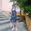 [Preorder] กระโปรงทรงเอสไตล์เกาหลีน่ารักลายสับปะรด มีสีน้ำเงิน/เหลือง thumbnail 4