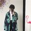 [Preorder] เสื้อเชิร์ตแขนยาวลายใบไม้ ใส่เป็นเสื้อคลุมได้ มีสีเขียว/แดง thumbnail 13