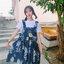 [Preorder] กระโปรงทรงเอสไตล์เกาหลีน่ารักลายสับปะรด มีสีน้ำเงิน/เหลือง thumbnail 11