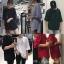 [Preorder] เสื้อยืดเปล่าแขน 5 ส่วนทรงหลวม มีสีขาว/ดำ/เทา/เขียว/แดง thumbnail 1