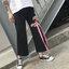 [Preorder] กางเกงขายาว 9 ส่วนสีดำปักดอกไม้ติดริบบิ้นสีชมพู thumbnail 9