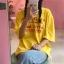 [Preorder] เสื้อยืดแนวสตรีทสีเหลือง Good Girls Bad Girls thumbnail 8