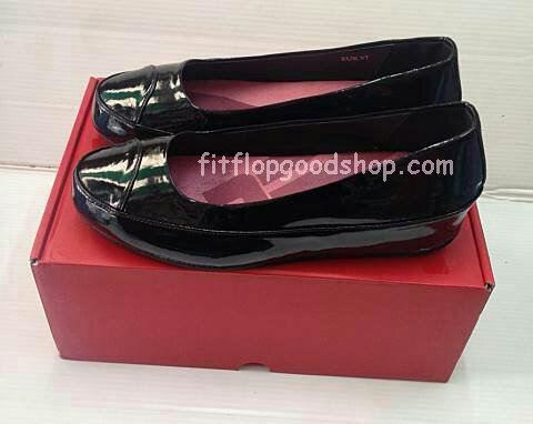 รองเท้า Fitflop Due คัชชู สีดำ No.FF328