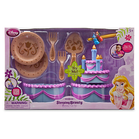 Z Sleeping Beauty Aurora S Birthday Cake Play Set