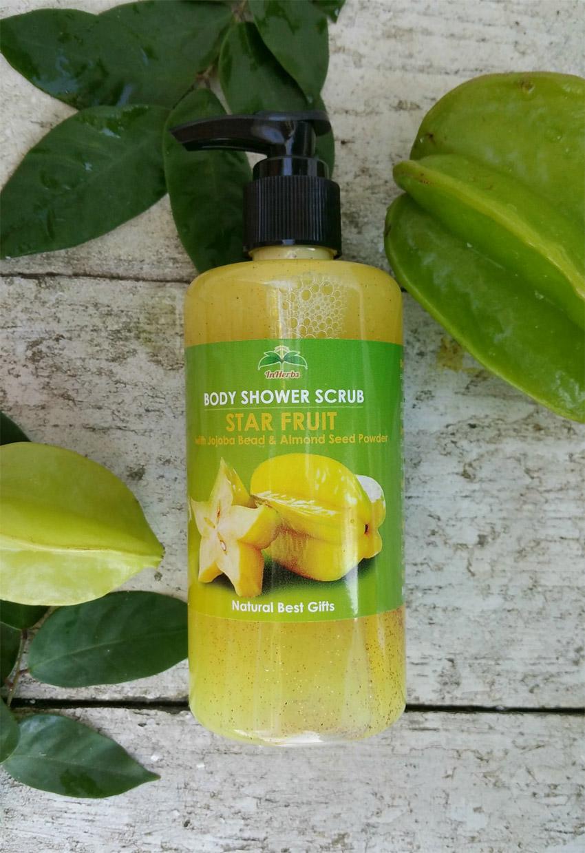 """THAI STAR FRUIT"" Body Shower Scrub / เจลอาบน้ำ สูตรมะเฟือง"