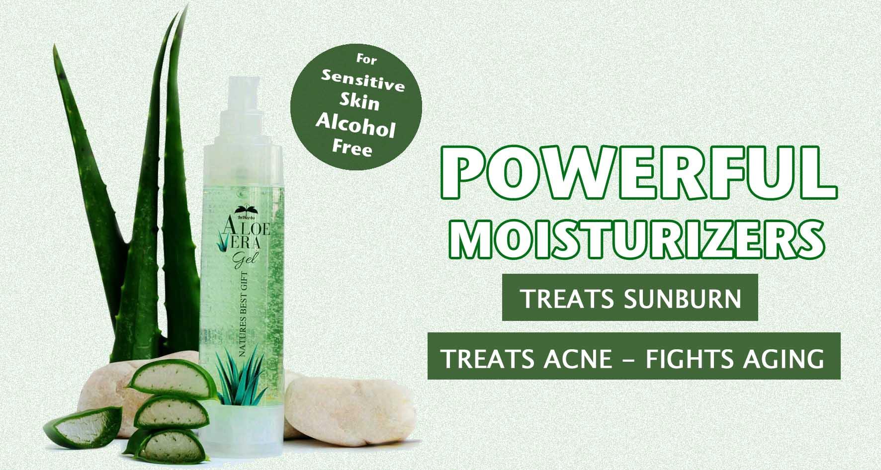 Aloe Vera Gel Alcohol Free For Sensitive Skin