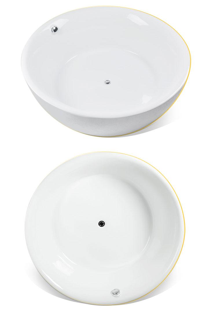 อ่างอาบน้ำตั้งพื้นทรงกลม รุ่น E02 อ่างอาบน้ำอะคริลิค อ่างทรงกลม อ่างอาบน้ำตั้งพื้น อ่างสปา อ่างแช่ตัว