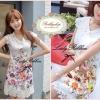 Lady Ribbon's Made Lady Lace Floral, Vivid Print Mini Dress มินิเดรสผ้าลูกไม้ทั้งตัว เก๋ๆด้วยดีเทลพิมพ์ลายดอกไม้สีสันสดใส ลุคคุณหนู ผู้ดีด้วย ดีเทลลูกไม้ทอลายดอกไม้ทั้งตัว สดใสด้วยลายพิมพ์สีสันสดใส ลุคชิคๆแบบสาวเกาหลีค่ะ **งานลูกไม้ตัวนี้มีหลายเกรดนะคะ งา