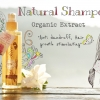 Natural Shampoo Jasmine Rice with Alpine Rose Organic