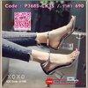 คัชชู อินสุดๆๆ รองเท้าแก้วมาแล้วค่ะ สวยเวอร์ อลังการ ดูดีสุดๆๆ งานสวม คาดหลังรัดข้อเท้า มีตะขอเกี่ยว มีรู ปรับกระชับได้ 4 รู ดีเทล คู่นี้ที่ส้น แก้วใส วิ้ง เลิศสุดๆ ส้นแท่งเก๋ ดีไซด์โค้งเว้าสวยงาม สวมใส่แล้วเดิน ทรงตัว ยืนสบาย ใส่ง่าย น้ำหนักเบา ความสูง 3