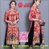 สินค้าพร้อมส่ง🍀 한국에 의해 설계된 2Sister made, Sweet Red Elegant Lady Dress เดรสสีแดงลุคสาวจีน เนื้อผ้าเกรดดีพิมพ์ลายสวย ดีเทลแขนยาวสามส่วน แต่งกระดุมจีนผ่าอกค่ะ กระโปรงบานสวย แต่งผ้าchiffonสีดำด้านในระบายพลิ้ว งานมีซับในอย่างดีค่ะ งานป้าย2Sister สินค้า