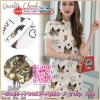 สินค้าพร้อมส่ง🍀 한국에 의해 설계된 2Sister made, Lady Sweet Dress with Cuties Cat เดรสสั้นลุคน่ารัก เนื้อผ้าcotton+polyesterลายแมวน่ารักๆ ดีเทลแขนสั้น คอปก มีกระดุมผ่าอกค่ะ แพทเทิร์นทรงตรงใส่สวยมากๆจ้า มี 2 สีให้เลือกค่ะ งานป้าย2Sister สินค้านำเข้างานพรีเ